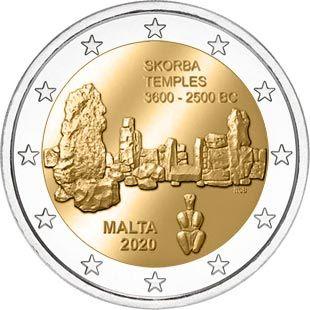 Resultado de imagen de monedas malta 2020