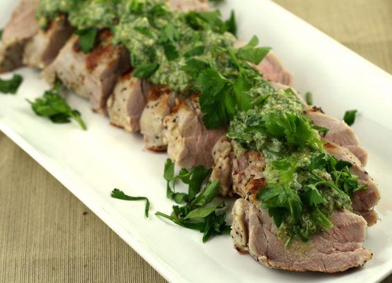salsaverde 016 - Pork Tenderloin With Italian Salsa Verde - http ...