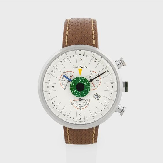 paul smith chronograph and tans on