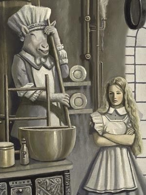 ALICE IN THE KITCHEN BY DAVID DELAMARE