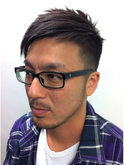 メンズ刈り上げアシンメトリー L000609444 インヴィンシブル ヘアー マーダ Invincible Hair Mada のヘアカタログ ホットペッパービューティー 髪型 メンズ ショート 爽やか 刈り上げ メンズ メンズ アシンメトリー