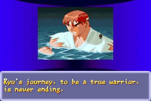Street Fighter Alpha 2, arcade.