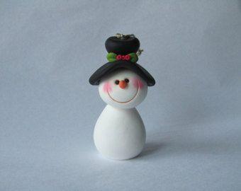 Polymer Clay Bear Figurine by ClayPeeps on Etsy
