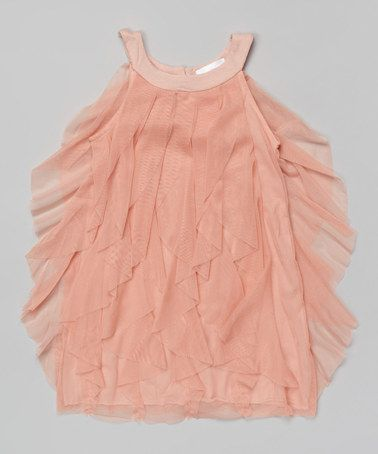 Another great find on #zulily! Pink Ruffle Dress - Toddler & Girls #zulilyfinds