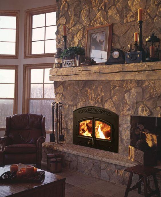 Wood Stove Fire Bricks 4 9 : Heatilator wood burning fireplace