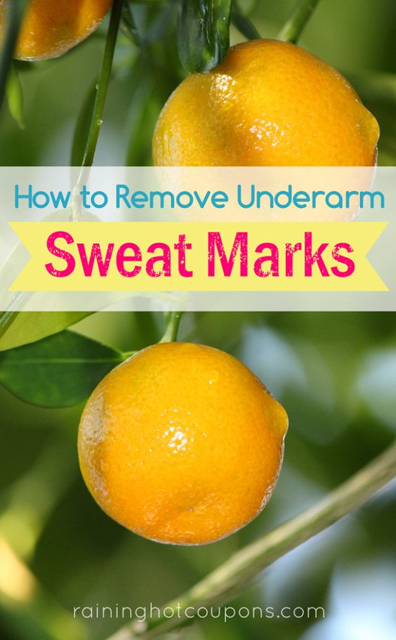 How To Remove Underarm Sweat Marks Frugal Tips Tricks