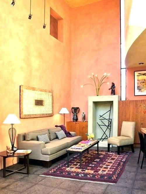 Good Peach Paint For Living Room Photograph Peach Living Rooms Rectangle Living Room Monochromatic Living Room #peach #living #room #ideas