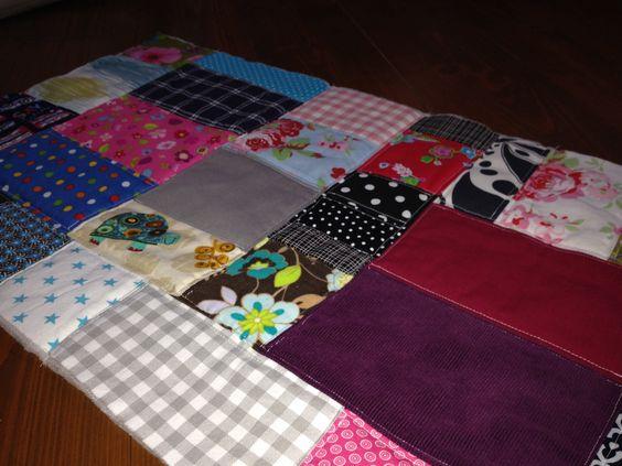 Das Januarstück meines 365-Tage-Quilts ist fertig!