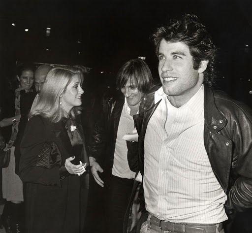 boomerstarkiller67:  Catherine Deneuve, Gérard Depardieu and John Travolta - New York Film Festival (1980)