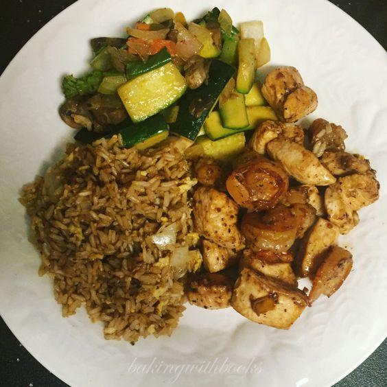 Homemade Chicken and Shrimp Hibachi