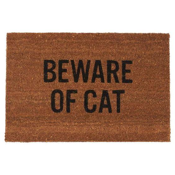 Beware Of Cat