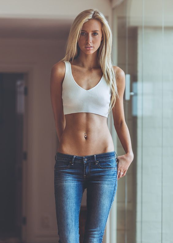 Gorgeous Skinny Teen Babe In 12