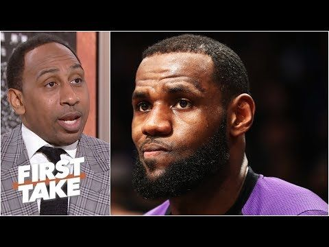 I M Starting To Get Worried About Lebron James Stephen A L