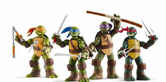 Teenage Mutant Ninja Turtles still look fairly similar…just maybe a tad less aggressive? | Here's What 23 Of Your Childhood Toys Look Like Now