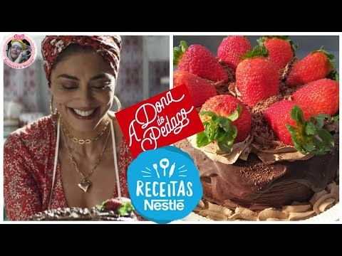 Receita Da Nestle Bolo De Chocolate Com Morangos Da Maria Da Paz