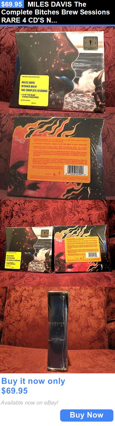 Music Albums: Miles Davis The Complete Bitches Brew Sessions Rare 4 Cds New BUY IT NOW ONLY: $69.95 #priceabateMusicAlbums OR #priceabate