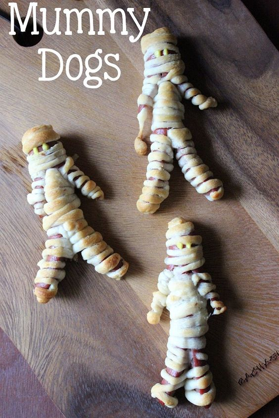MUMMY DOGS at Everyday Made Fresh on MyRecipeMagic.com