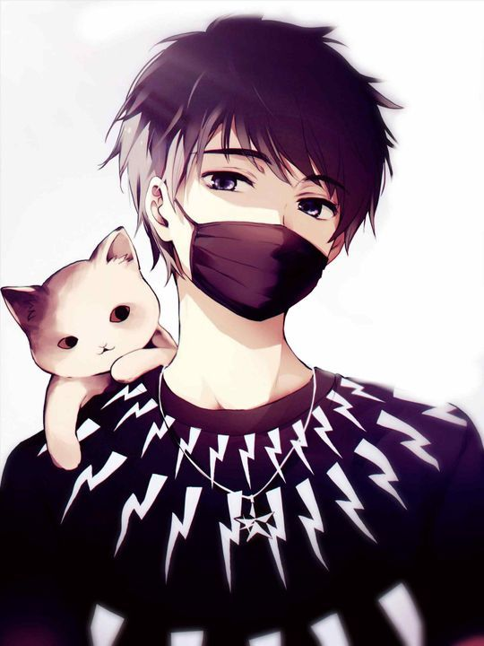 Anime Character Wearing Face Mask Manga Anime Gambar Anime Gadis Anime
