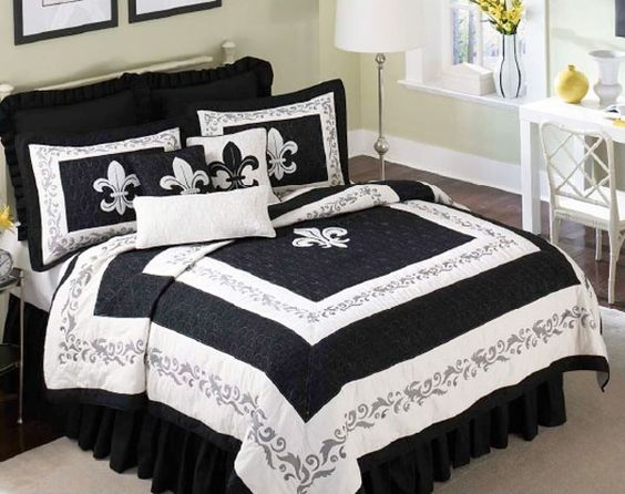 Pinterest the world s catalog of ideas - Fleur de lis bed sheets ...
