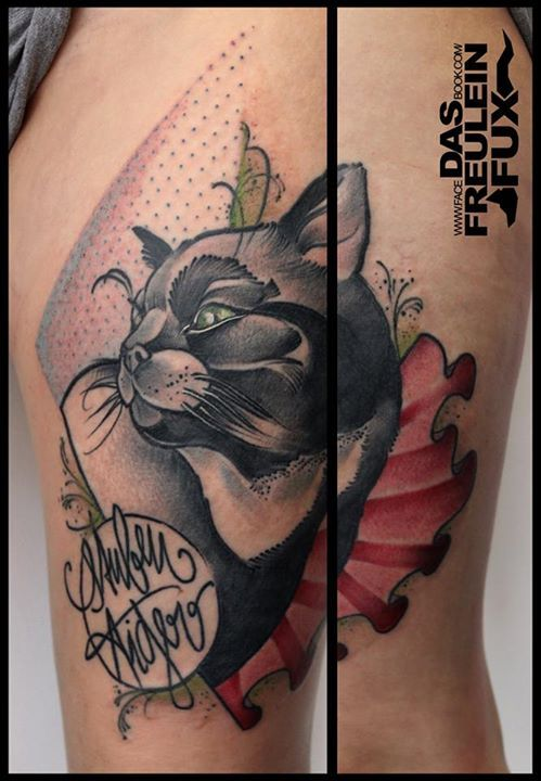 Tattoo by Freulein Fux