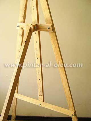 Como hacer un caballete para pintar al oleo pintar al - Caballetes de madera ...
