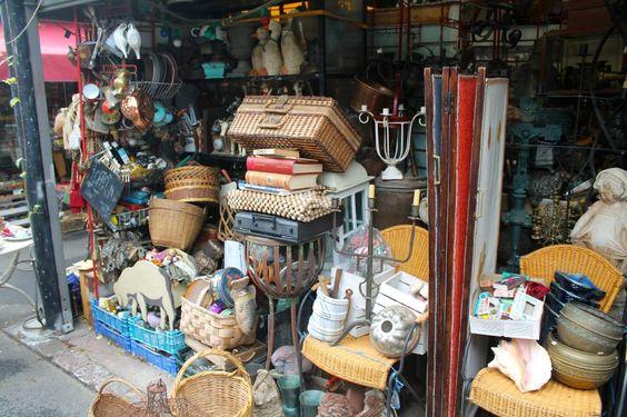 *Marche aux Puces de Saint-Ouen (the largest antique market in Paris, look up detailed directions before you go!!) - Paris
