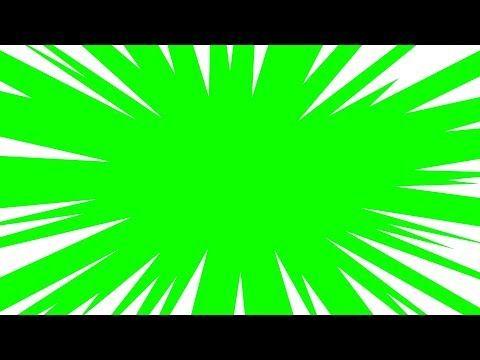 Efeitos Chroma Key Anime Zoom Green Screen Speed Lines Chroma Key Pantalla Verde Youtube Chroma Key Greenscreen Green Screen Video Backgrounds