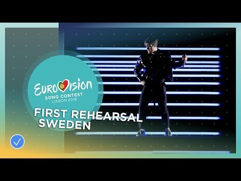 Benjamin Ingrosso Dance You Off First Rehearsal Sweden Eurovision 2018 Youtube Miles Sweden Eurovision Songs Eurovision Song Contest