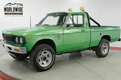 1976 Chevrolet Luv Mikado Restored 4x4 Short Bed Collector Green Pickup Truck Old Trucks For Sale Vintage Classi Pickup Trucks Chevy Luv Old Trucks For Sale