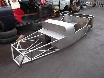 lotus 7 caterham type body tub chassis steel kit car frame abandoned project http. Black Bedroom Furniture Sets. Home Design Ideas