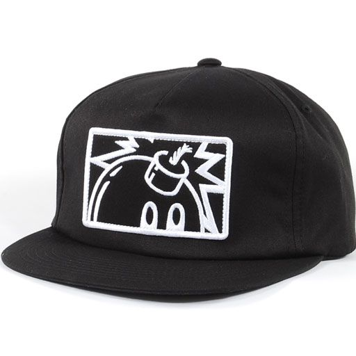 The Hundreds Patch Adam Snapback Hat (Black) $27.95
