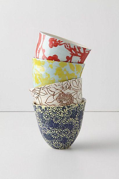 Bright Morning Teacups, Assorted - Anthropologie.com