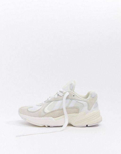 adidas Originals Yung'1 Trainers In Off White   ASOS