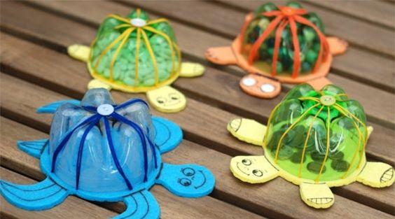 Interessante handgemachte kindische Ornamente schidkröte blau grün idee