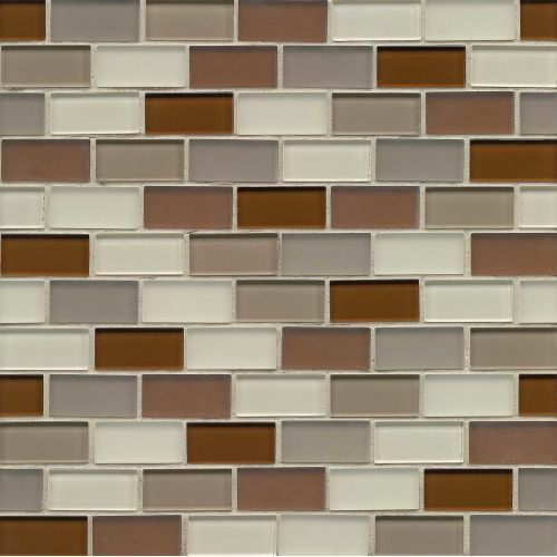 Loft 1 X 2 Wall Mosaic In Metropolitan Decorative Glass Tile Mosaic Glass Mosaic Tiles