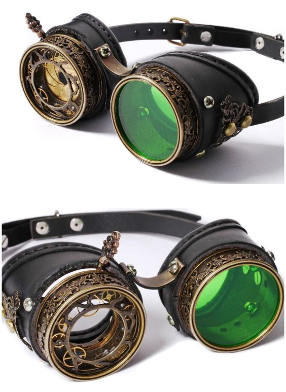 photo n°2 : Goggles steampunk RQ-BL 'raptor'