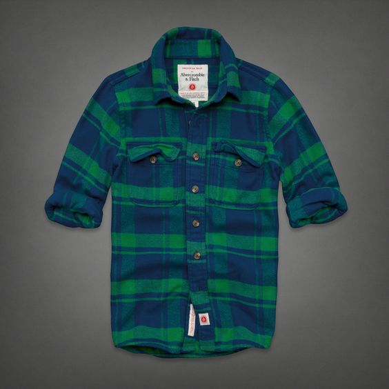 Mens American Made Flannel Shirt | Mens American Made | Abercrombie.com