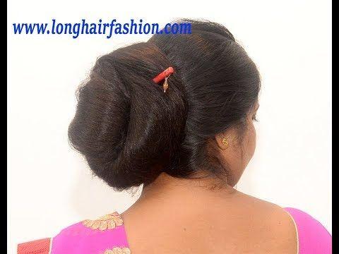 Giant Mega Bun Making Easy Bun Making With Super Dense Very Long Hair Of Ilh Woman Ritika Youtube Bridal Hair Buns Long Hair Styles Big Bun Hair