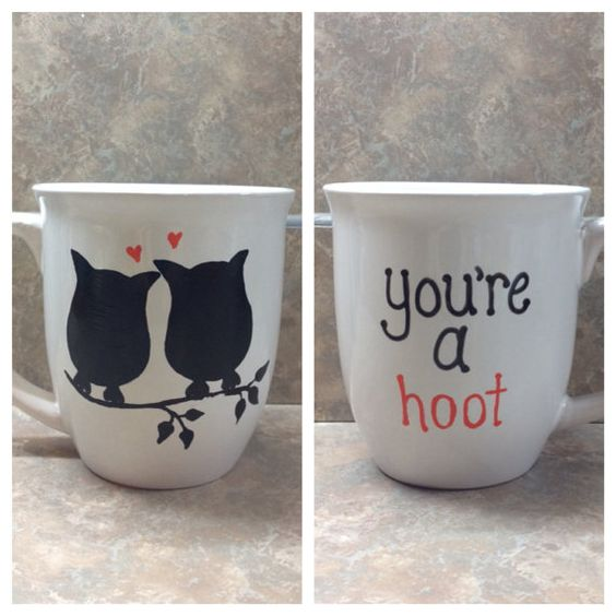 Owl coffee mug by sarahmarie28 on Etsy: