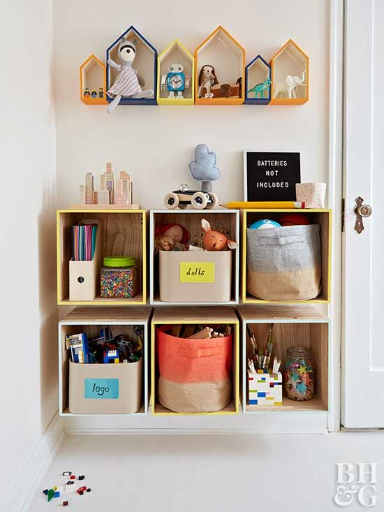Diy Kids Rooms Storage Projects Room Bookshelves
