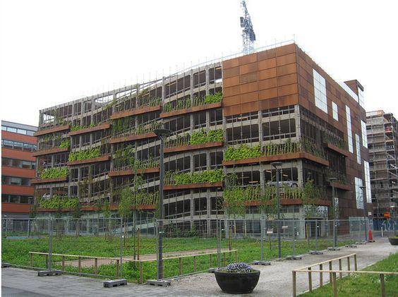Green Parking Vertical Green Eindhoven | PARKING | Pinterest | Eindhoven