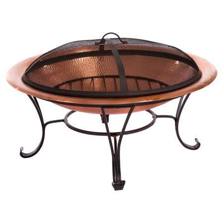 Found it at Wayfair - Shayne Fire Pit in Copperhttp://www.wayfair.com/daily-sales/p/Fall-Friendly-Patio-Refresh-Shayne-Fire-Pit-in-Copper~NFN3037~E13466.html?refid=SBP.rBAZEVOCaG2COz_iQBXnAq2r2lqVN0NWjyOZ9qU6nSQ