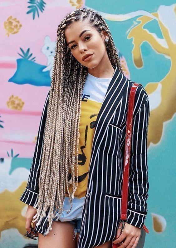 16+ Coiffure a la mode avec des tresses inspiration
