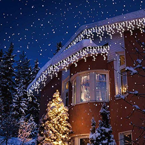 Best Solar Christmas Lights Reviews Outside House Christmas Lights Solar Christmas Lights White Christmas Lights Led Icicle Lights