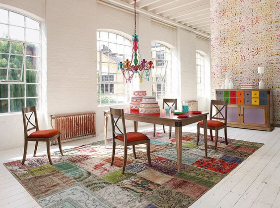 Ethnic rugs weave their magic