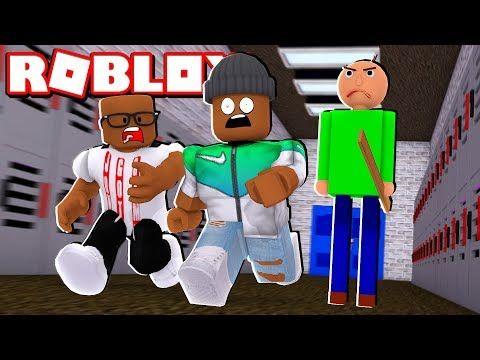 2 Player Baldi S Schoolhouse Escape In Roblox Youtube In 2020 Roblox Games Roblox Homeschool