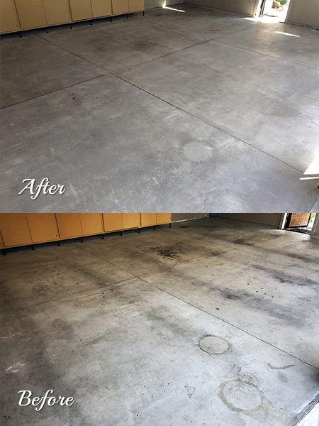 Top Seal Concrete Garages Polished Concrete Flooring