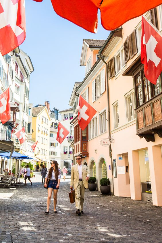 The wonderful city of Zürich, Switzerland