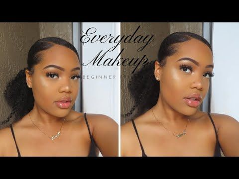 Everyday Natural Affordable Makeup Tutorial For Black Women