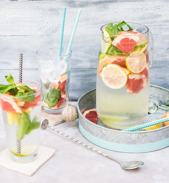 Derby Day: Tussock Jumper Citrus Mint Spritzer Cocktail Recipe | Queen Thrifty